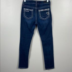 Daytrip Lynx ankle skinny embroidered size 30